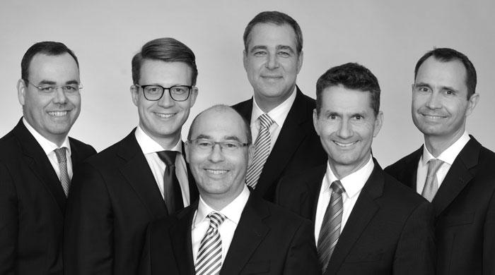 Gruppenfoto: Reich, Doeker & Kollegen